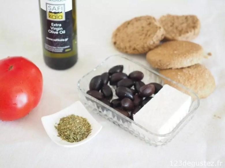 dakos - cuisine crétoise