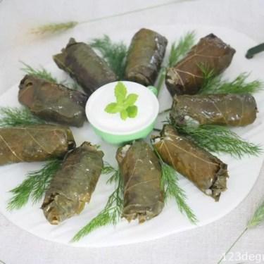 feuilles de vigne farcies - dolmadakia