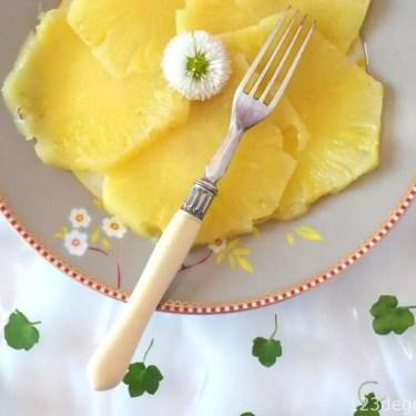 couper un ananas