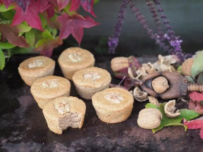 gateau aux noix moelleux sans gluten