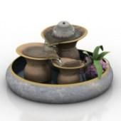 Artificial Fountain Decoration