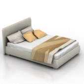 Bed Free 3dmax Model