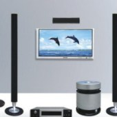 Home Theater Multimedia Set
