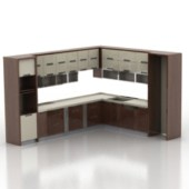 European Whole Kitchen Cabinet