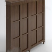 Brown Wooden Cabinet