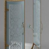 Bathroom Glass Door Free 3dmax Model