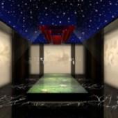 KTV Interior Room Free 3dmax Model