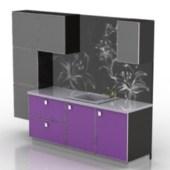 Black Cupboard Cabinet