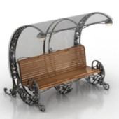 VIntage Design Street Bench