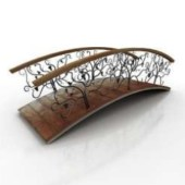 Free 3dmax Model Of European Flower Bridge