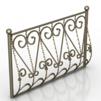 European Decoration Guardrail