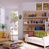 Lovely Living Room Interior 3dsMax Scene