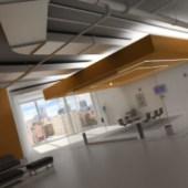 Office Meeting Room Modern Interior