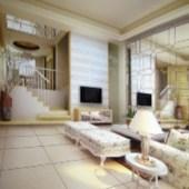 The European Paperback Living Room