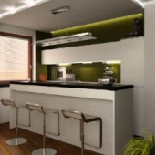 Boutique Kitchen Scene Free 3dmax Model