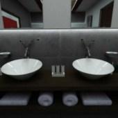Bathroom  Indoor Space Design
