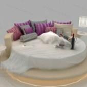 European Round Bed