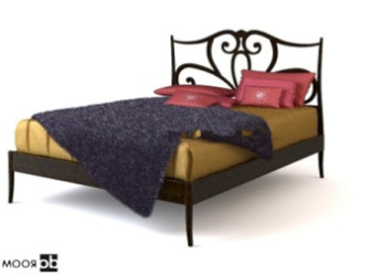 Chinese-style Bed