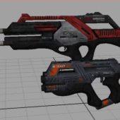 Maya Guns Design