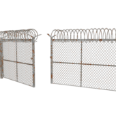 Military Fence Gate