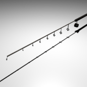 Low Poly Simple Fishing Rod
