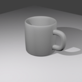 Ceramic Hd Coffee Cup