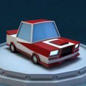 Low Poly Racing Car