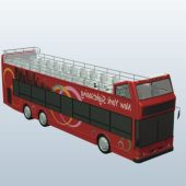 Tourist Bus With Open Top V2