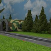 Army Base Scene