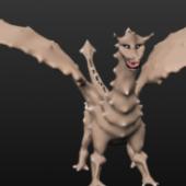 Bone Dragon Monster
