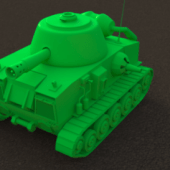 Cartoon-ish Tank