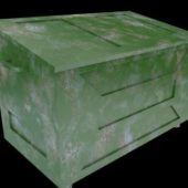 Antique Stone Garbage Container