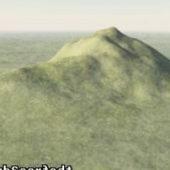 Hill Landscape Scene