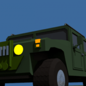Hummer Military Jeep Car