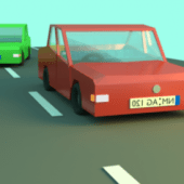Beauty Low Poly Cars