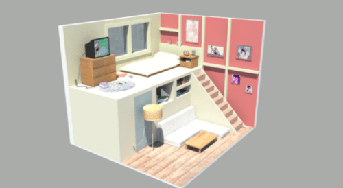 Loft Room Design