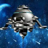 Fantasy Alien Space Station