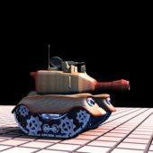 Small Cartoon Tank