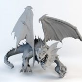 Fantasy Animal Evil Dragon