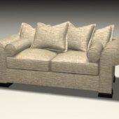 Furniture Fabric Sofa Loveseat