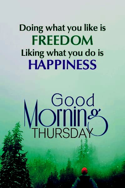 Good Morning Thursday Messages