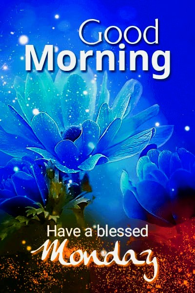 Good morning monday flower images