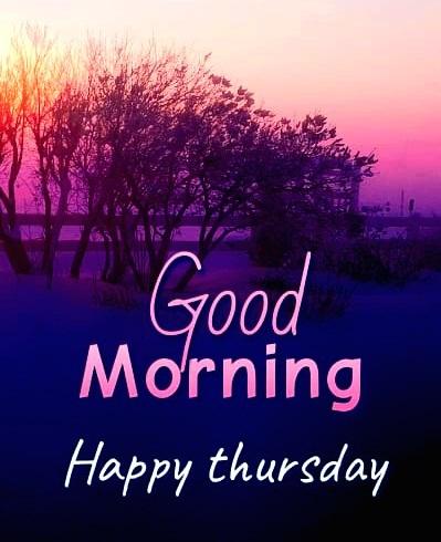 thursday good morning