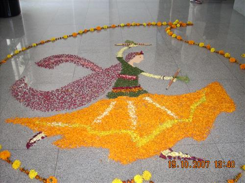 Rangoli Designs for Women's Day