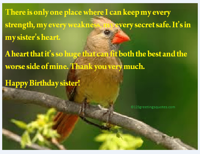 Best 13 Happy Birthday Greeting E Cards for Sister & to ...