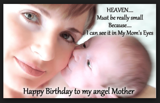 Heart Touching 107 Happy Birthday MOM Quotes from Daughter & Son - To My Mother