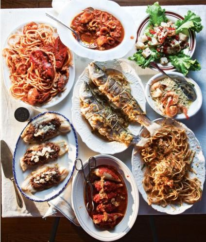 Italian Feast of the Seven Fishes History Menu Ideas Recipes Modern Food - Meaning with Why What & When Information