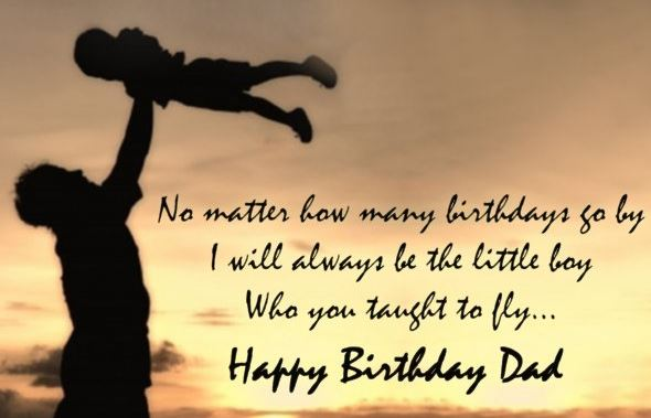 birthday quotes for dad from baby