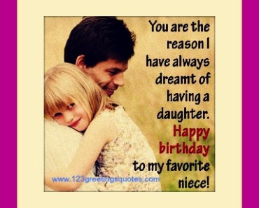 Best Happy Birthday Images for Niece from Uncle {Greeting Card} birthday wishes for niece poems from uncle