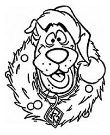 Funny Coloring Pages for Christmas